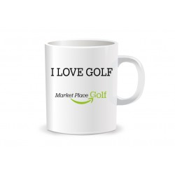 Taza I Love Golf