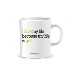 Taza I love my life